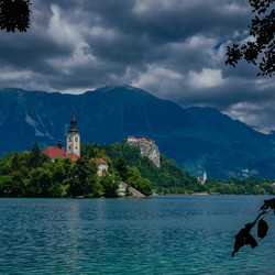 Dark clouds cover Bled