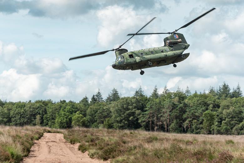 Chinook oefening Ginkelse heide -