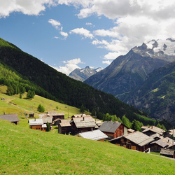 Saasdal in Zwitserland