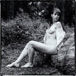 Eva in het bos