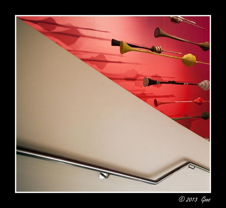 Groninger museum 42 - Al weer die trap met de toeters.....