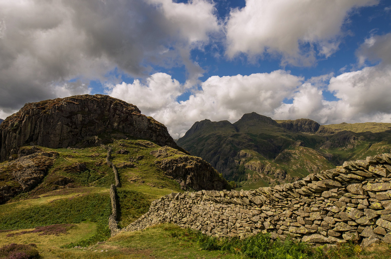 Lingmoor Fell in The Lake District -