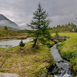 Simplonpas Zwitserland.