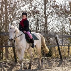 Paardrijles Fleur!!!