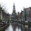 Alkmaar, gracht en monumenten