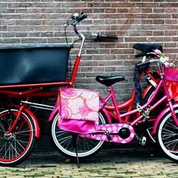 Blije fietsen