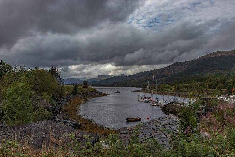 Shiel Bridge Schotland -