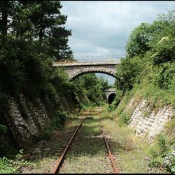 Vervallen spoorlijn