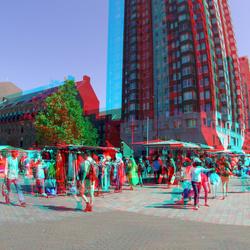 Binnenrotte Rotterdam 3D GoPro 200mm basis