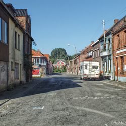 Main street Doel