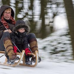 Speeding granny