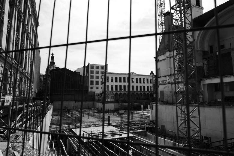 Werken - Antwerpen - Typisch Antwerpen... eeuwig durende werkzaamheden.
