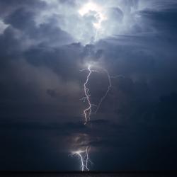 Zomerstorm, Italië!