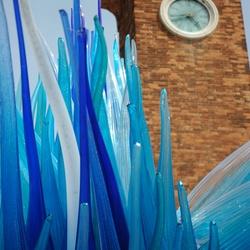 Glaswerk op het eiland Murano