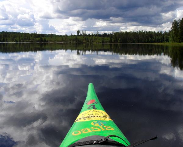 Kanosurvival in Zweden -