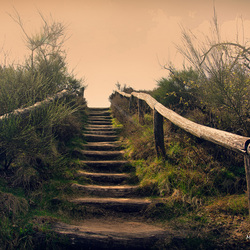 Stairs to....