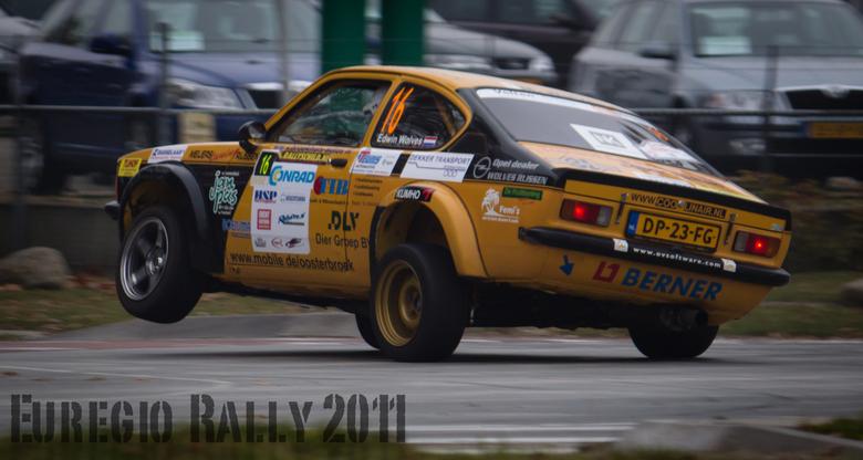 Wolves trekt een wheelie - Gemaakt tijdens de Euregio Rally 2011 Hengelo