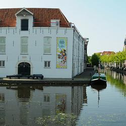Panorama Delft, zicht op Legermuseum