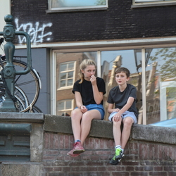 Kids in Amsterdam
