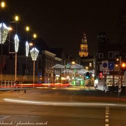 Kerstsfeer in Groningen.