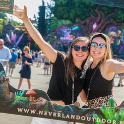 Having fun at Neverland Outdoor