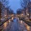 Ijzige Leidsegracht Amsterdam