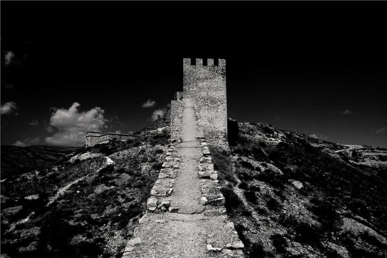Old Castle. - Een oud kasteel, er was niemand, niet beperkt door mensen die in de weg lopen, vervelende bordjes en stomme hekjes. <br />