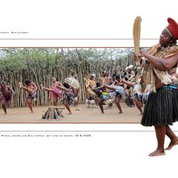 Afrikaanse Zulu stam