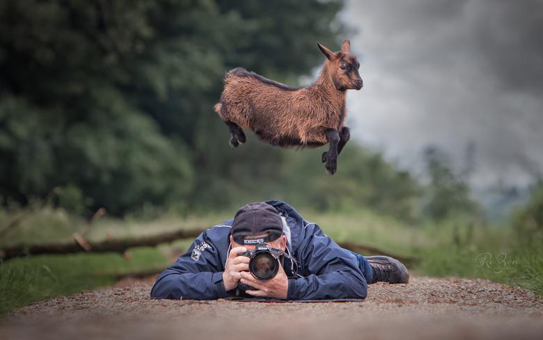 Rene-en-Gijs-1b - Ik dacht afgelopen zaterdag geconcentreerd een shoot van honden te doen ...