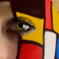Mondrian eye