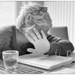 Sssst.... aan de studie, niet storen..