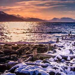 sunset Tromso