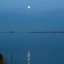 Maanlicht over de Gouwzee
