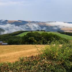 Glooiende heuvels