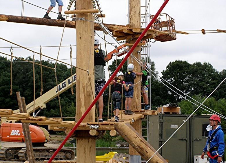 KURENPOLDER 20-07-2013 TEAM BIESBOSCH - KURENPOLDER 20-07-2013 <br /> <br /> Ondanks dat alles nog niet klaar is,wordt er toch behoorlijk geklommen.