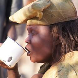 Himba vrouw