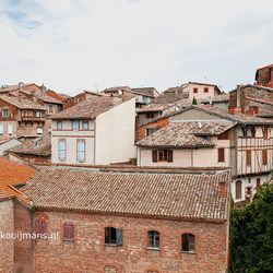 De gebouwen in Gaillac