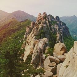 De Ulsanbawi Rock in Zuid Korea: wat een pareltje!
