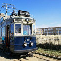Oude Tram van NHZ
