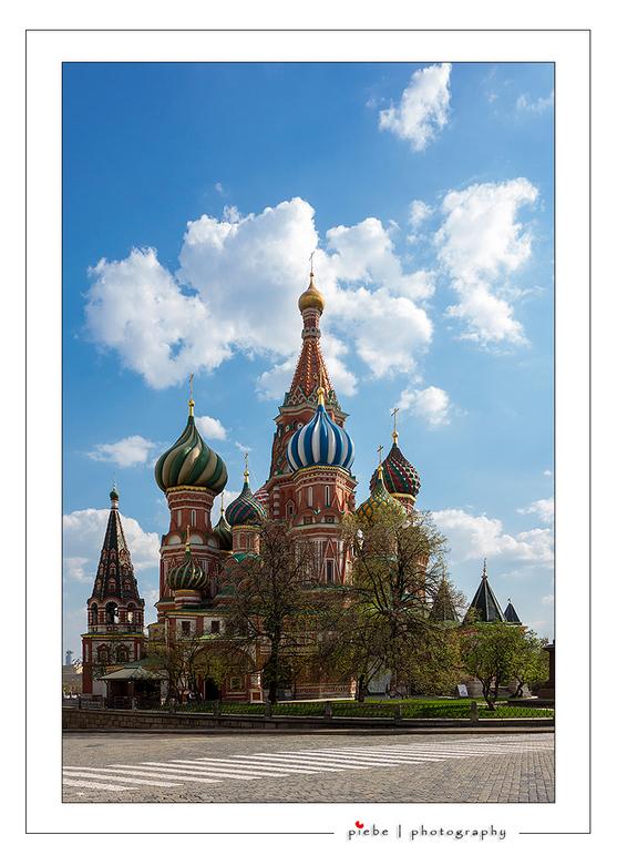 Het Rode Plein van Moskou - Ben drie dagen voor mijn werk naar Moskou geweest. Op de tweede was er wat tijd over voor een bezoek aan het Rode Plein. E