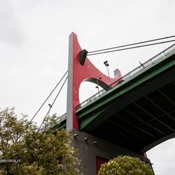 Brug over de Nervion in Bilbao