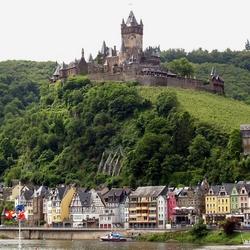 De Reichsburg te Cochem.