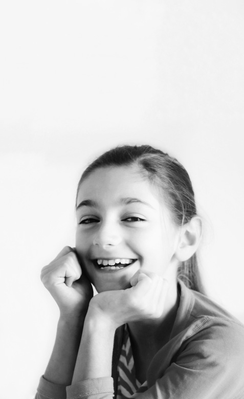 10 jaar shoot - Even een foto voor haar 10de verjaardag...