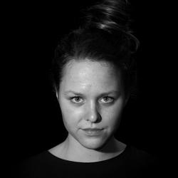 Portret in zwart wit