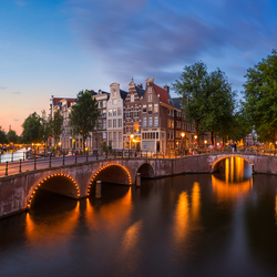 Groeten uit Amsterdam ...
