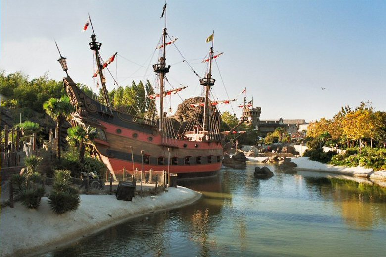 pirates - pirates of the carribean - Disneyland Parijs