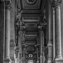buitengallerij Opera Paris