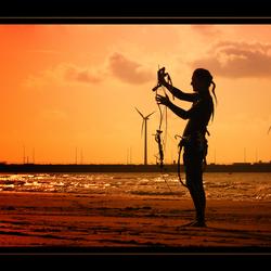 Kiting@The Beach!!