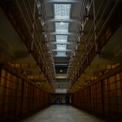 Celblok Alcatraz gevangenis