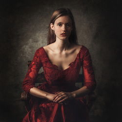 The Lady in Red...